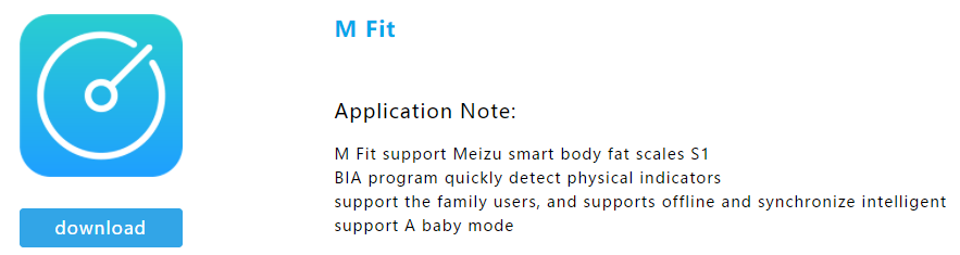 M Fit Smart Scale