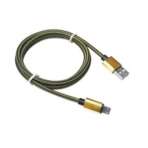 smartylife-1METER Nylon Micro USB Cable for Samsung HTC Huawei Xiaomi Android Fast Charge Wire