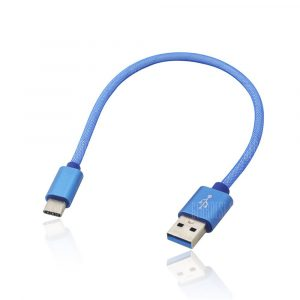 smartylife-3.4A Quick Charge USB 3.1 Type-C Charging / Data Transfer Cable (25cm)