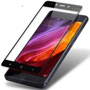 smartylife-HD Clear Full Coverage Automatic Adsorption Tempered Glass for Xiaomi Redmi Note 4