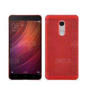smartylife-Heat Dissipation Ultra-thin Frosted Back Cover Solid Color Hard PC Case for Redmi Note 4 / 4X