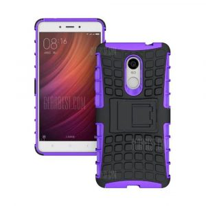 smartylife-Rugged Spider Armor Heavy Duty Hybrid TPU Silicone Stand Impact Cover for Xiaomi RedMi Note 4 Case