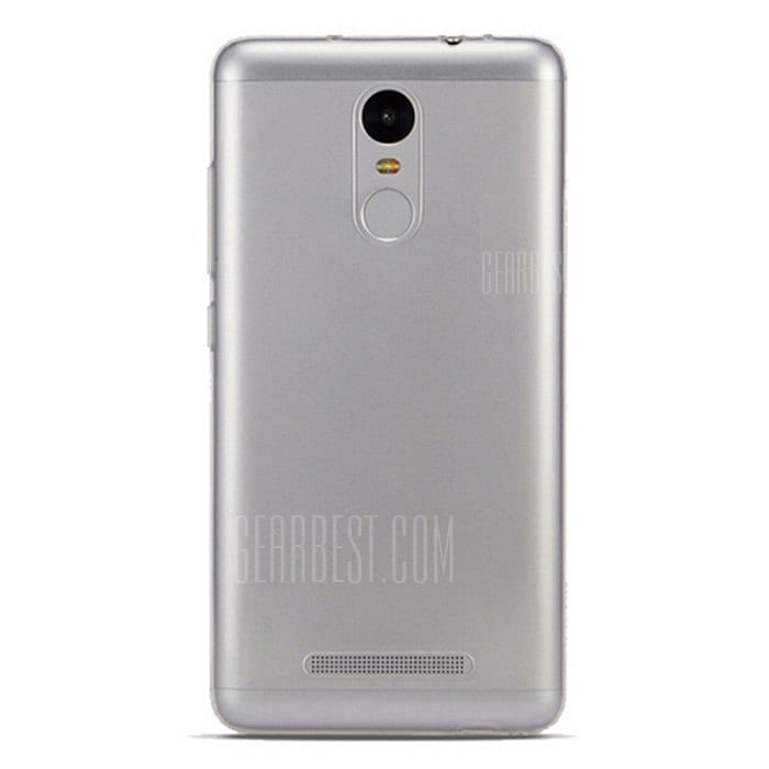 smartylife-TPU Material Back Cover Case for XIAOMI REDMI NOTE 3