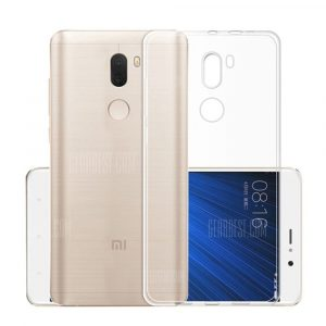 smartylife-Ultra-Thin Tpu Back Cover Case for Xiaomi Mi 5S Plus- Transparent