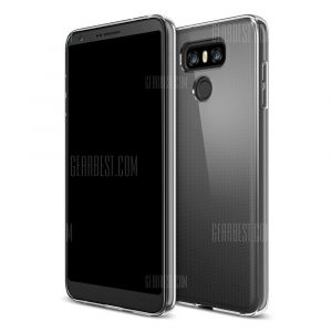 smartylife-Ultrathin Shock-absorption Bumper TPU Clear Case for LG G6