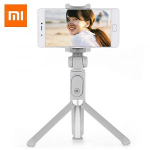 smartylife-Xiaomi Selfie Stick Bluetooth Remote Shutter Tripod Holder