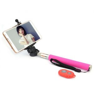 smartylife-CL-70 Portable Camera Selfie Monopod Pole with Bluetooth RC Self Timer and Phone Stand