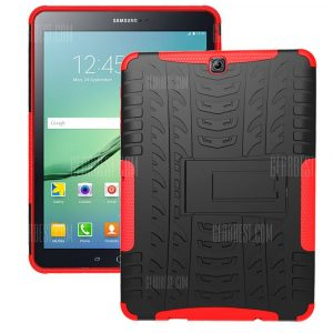 smartylife-Double-protection Back Case with Bracket for Samsung Galaxy Tab S2 T810
