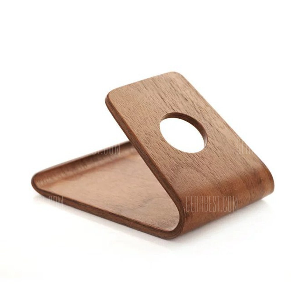 smartylife-SAMDI Wood Mobile Phone Stand Holder for iPhone