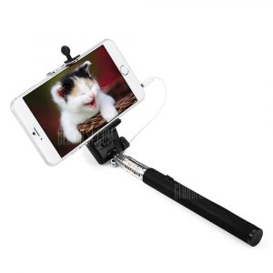 smartylife-Z07 - 5S Selfie Monopod with 3.5mm Audio Cable