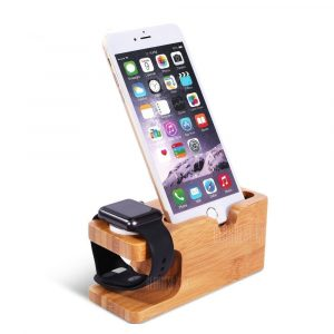 smartylife-for Apple Mobile Phones Charge Support Base Iwatch Wooden Support Stent