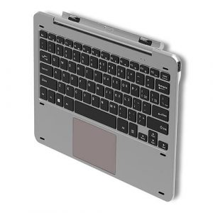 smartylife-Original CHUWI Magnetic Docking Keyboard For HI10 Plus - Silver