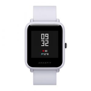smartylife-(Chinese Version) Huami Amazfit Bip Lite Version Bluetooth 4.0 IP68 Sports Smartwatch  GPS Gloness Heart Rate Monitor 45 Days Standby - Gray