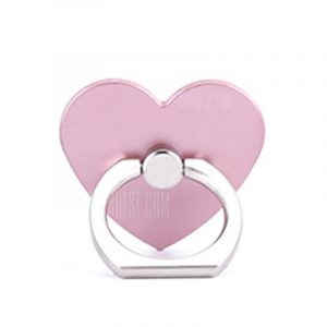 smartylife-Creative 360 Degree Love Heart Shaped Mobile Phone Ring Bracket Holder