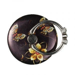 smartylife-Flower Butterfly Retro Pattern Ring Holder for Phone