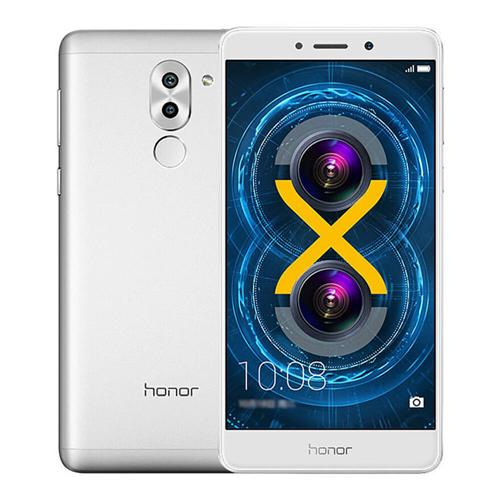 smartylife-HUAWEI Honor 6X 5.5 inch FHD 2.5DScreen Android 6.0 Smartphone Hisilicon Kirin 655 Octa Core 3GB RAM 32GB ROM 12.0MP+2.0MP Dual Rear Cameras Touch ID VoLTE - Silver