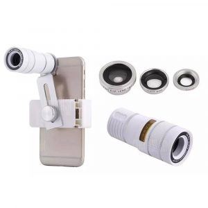 smartylife-Hot Fish Eye Wide Macro 9X F1.1 Telephone Lens Four-in-one