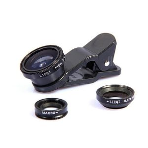smartylife-LIEQI LQ - 001 Fisheye Wide Angle Macro Phone Camera Lens