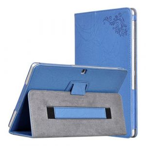 smartylife-Protective Leather Case with Kickstand for Cube iPlay10 - Blue