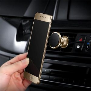 smartylife-Roidmi Z1 Car Stand Holder 360 Degree Rotating Bracket Stand Cell Phone Holder Stand - Gold