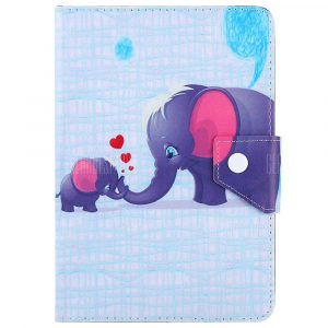 smartylife-SZKINSTON Elephant Family Style Protective Case for 10 inch Tablet PC