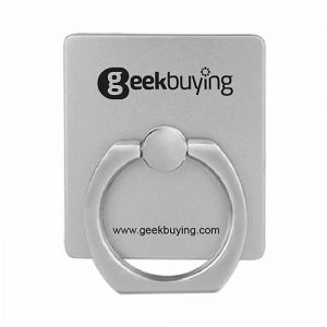 smartylife-Silver Metal Ring Holder Geekbuying Mobile Phone Stand Support For Smartphones/Tablets