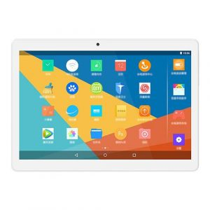 """smartylife-Teclast P10 10.1"""" Tablet Quad Core Android 7.1 MT8163 2GB RAM 32GB ROM - Silver/White"""