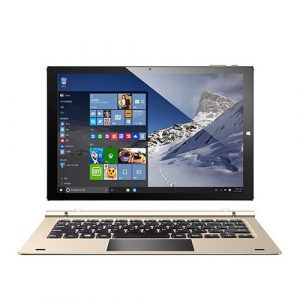 smartylife-Teclast TBook 10S 10.1 inch Dual OS Windows 10 & Android 5.1 Tablet PC (Gold) + Docking Keyboard (Gold)