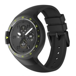 "smartylife-Ticwatch S Sports Smartwatch 1.4"" OLED Display Dual Core MTK 2601 Android Wear Bluetooth Music GPS WIFI Compatible with iOS Android - Knight"