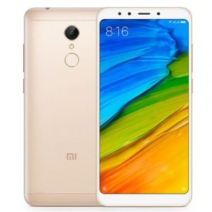 smartylife-Xiaomi Redmi 5 5.7 Inch 4G LTE Smartphone 18:9 Full Screen 2GB 16GB 12.0MP Cam Qualcomm Snapdragon 450 Octa Core 1.8GHz Touch ID - Gold