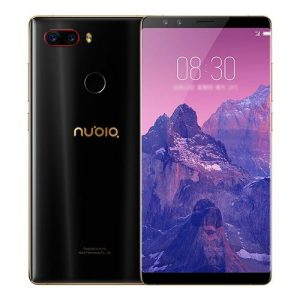 smartylife-ZTE Nubia Z17S 5.73 Inch 4G LTE Smartphone Snapdragon 835 Octa Core 6GB 64GB Four Cameras Android 7.1 NFC Type-C 26W Flash Charge - Black Gold