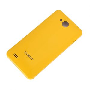 smartylife-Back Shell for Cubot GT90 4.0 Inch MTK6572W Dual Core Smart Phone - Yellow