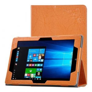 smartylife-CHUWI Hi10 Plus PU Leather Protective Case with Stand & Arm Band Functions - Orange