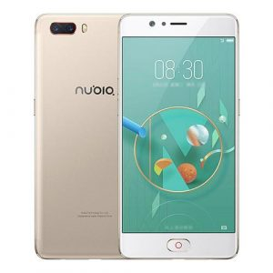 smartylife-Nubia M2 NX551J 5.5 Inch Smartphone FHD Screen Snapdragon 625 Octa Core A53 2.0GHz 4GB 64GB 13.0MP Dual Rear Camera Touch ID Metal Unibody - Champagne Gold