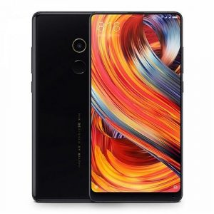 smartylife-Xiaomi Mi Mix 2 5.99 Inch 4G LTE Smartphone 6GB 64GB 12.0MP Cam Snapdragon 835 Octa Core Android 7.1 NFC VoLTE Four-sided Curved Ceramic Body - Black