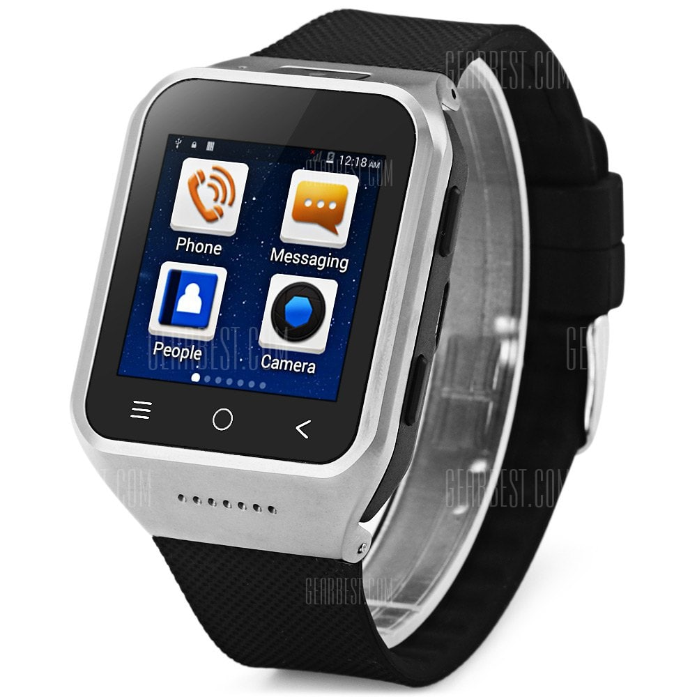 smartylife-ZGPAX S8 3G Android 4.4 Smart Touch Screen Watch Phone US PLUG