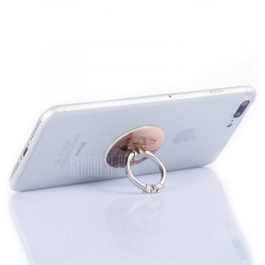 smartylife-Practical Durable Pattern Phone Ring Stand Holder