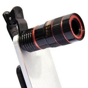smartylife-10 in 1 Telephoto Universal Lens Telescope Wide Angle Macro Fish Eye Selfie Stick for Mobile Phone
