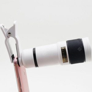 smartylife-12 X 8 Times Mobile Phone Telephoto Telescope Lens 14 Times High-definition Camera Zoom Focus External Mobile Phone Lens