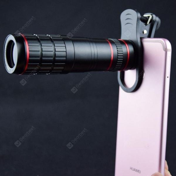 smartylife-20 Times Telephoto Mobile Phone Lens Universal 20× Mobile Phone Zoom Lens High-definition Focusing Special Effects External Photography Lens