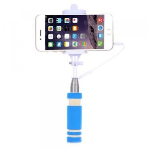 smartylife-Cute Mini Selfie Stick Extendable Mobile Phone Camera Monopod Portrait Handheld Selfie Stick For iPhone Samsung Android