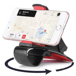 smartylife-Gocomma 360 Degree Rotatable Car Dashboard Clamp Phone Holder