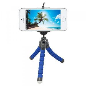 smartylife-Mini Flexible Sponge Octopus Tripod for iPhone Samsung Xiaomi Huawei Mobile Phone Smartphone