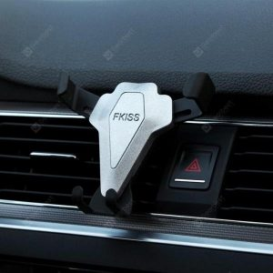 smartylife-Car Air Outlet Car Bracket Bracket Triangle Gravity Mobile Phone Buckle Type Stable Air Outlet Car Bracket  Gearbest