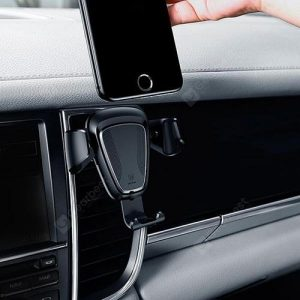 smartylife-Creative Car Phone Bracket Car Swing Air Outlet Navigation Frame Gravity Car Bracket  Gearbest