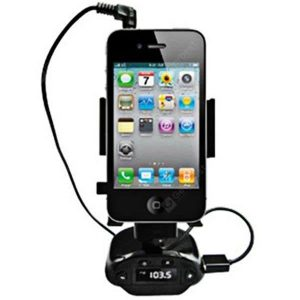 smartylife-Windshield Car Universal Holder for iPhone 4/ iPhone 4S with MP3 Function (Black)  Gearbest