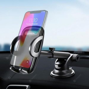 smartylife-FLOVEME Car Center Phone Holder for 3.8 - 6.5 Inch Mobile Phone  Gearbest