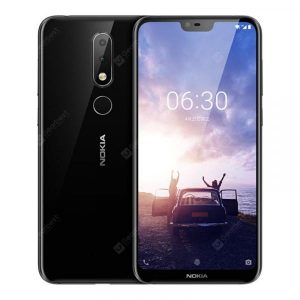 smartylife-Nokia X6 4G Phablet International Version 4GB RAM 64GB ROM Fingerprint Sensor Face ID  Gearbest