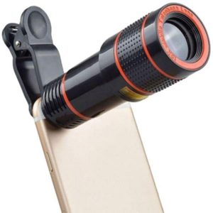 smartylife-12 X 8 Times Mobile Phone Telephoto Telescope Lens 14 Times High-definition Camera Zoom Focus External Mobile Phone Lens  Gearbest