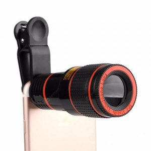 smartylife-12X Zoom Optical Mobile Phone Telephoto Camera Lens with Clip  Gearbest